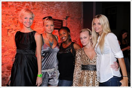 Liezel van der Westhuizen, Roxy Louw, Amanda Dilima, Veronica and Lyndall Jarvis