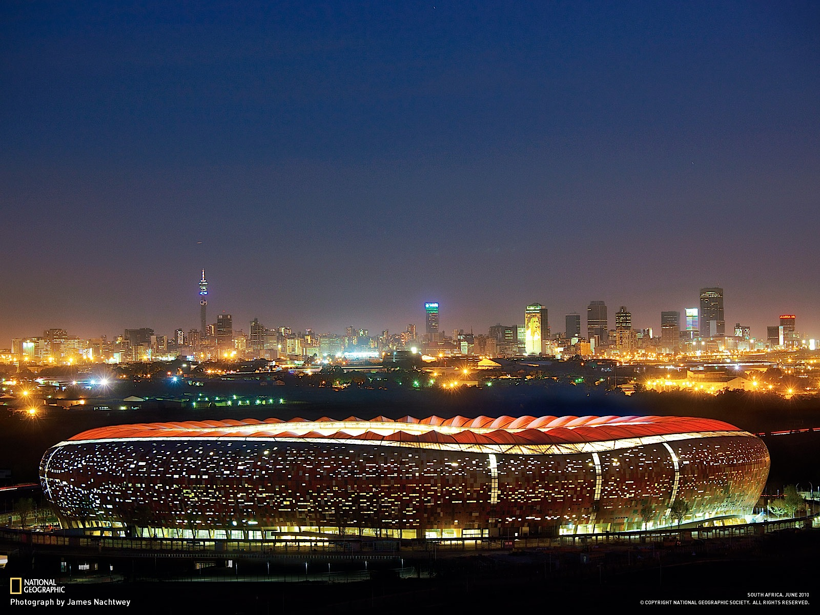 Jozi stadium at night awesome wallpaper 2oceansvibe jun10wallpaper 11600g thecheapjerseys Gallery