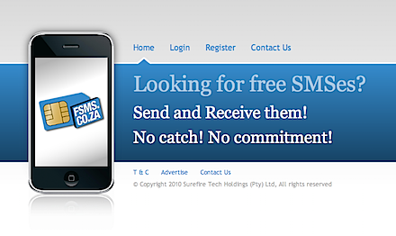 SEND FREE SMS FROM YOUR COMPUTER – NEW LOCAL FREE SMS SERVICE HITS