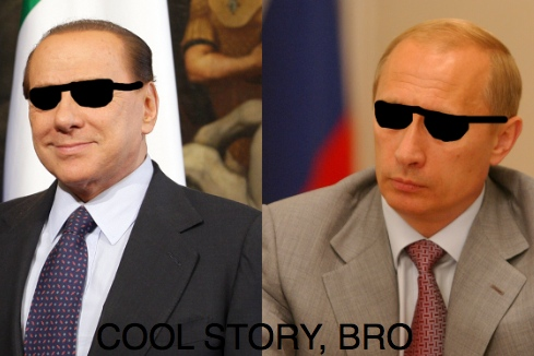 The Best Thing About Wikileaks: Putin and Berlusconi's