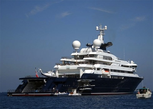 Paul Allen's Yacht Helicopter Ditches In The Ocean