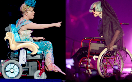 Bette Midler Outs Lady Gaga On Twitter For Mermaid In A Wheelchair Routine [VIDEO]