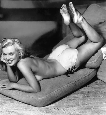 Alleged Marilyn Monroe Porn Film Up For Auction - One of the only two known ...