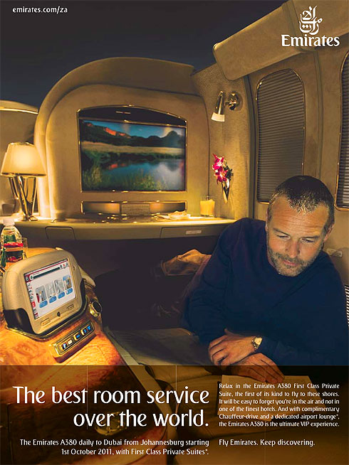 Did You Catch This Emirates Ad In The Sunday Times