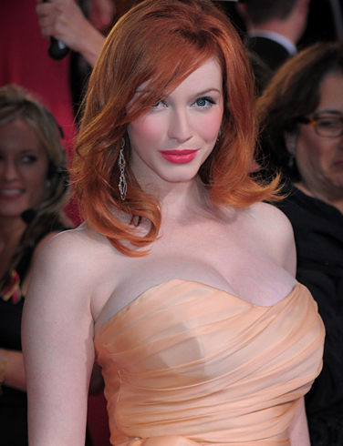 58 christina hendricks 1295650864 While the as yet unannounced video game project I'm helping write has been ...