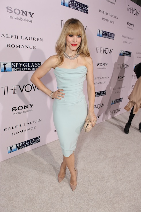 "Screen Gems Premiere Of ""The Vow"""