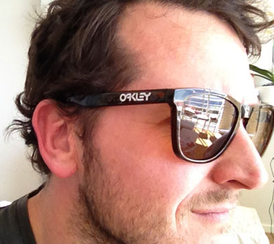 Oakley Frogskins Cycling