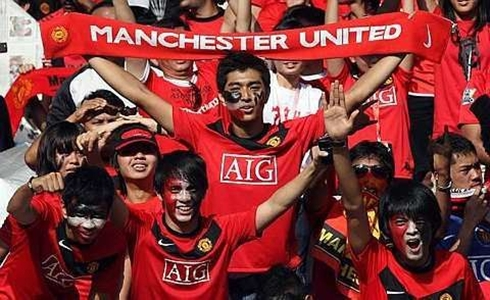 10 of the world s population supports manchester united apparently