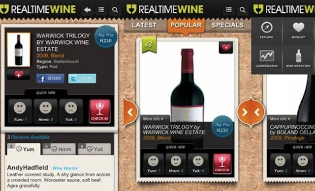 Realtime-Wine-screenshots