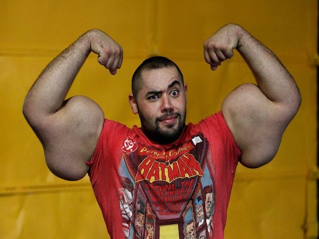 Worlds Biggest Arms