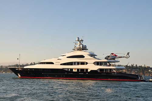 Billionaire Problems Helicopter Blows Over On Superyacht Landing