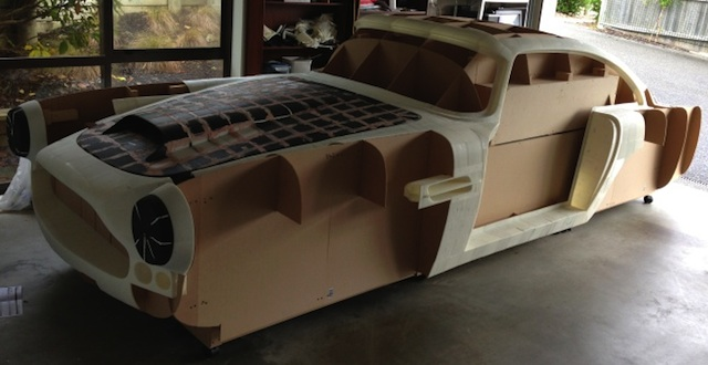 Aston Martin Enthusiast Has 3D Printed The 1961 Aston Martin DB4