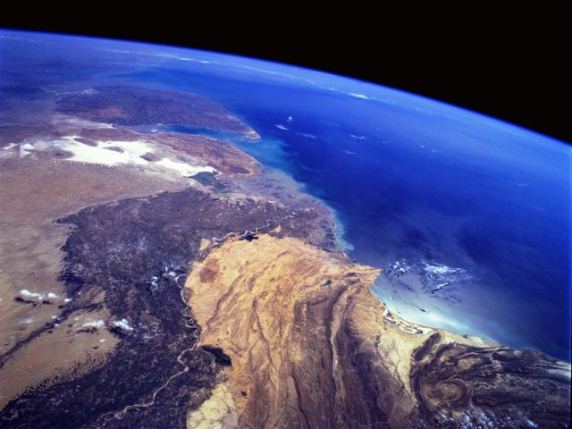 Space journey-Earth view from the space tourism destinations