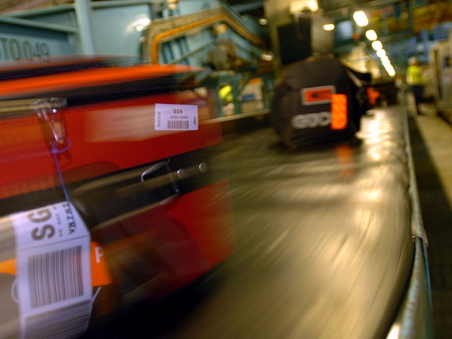 baggage system handles millions bags