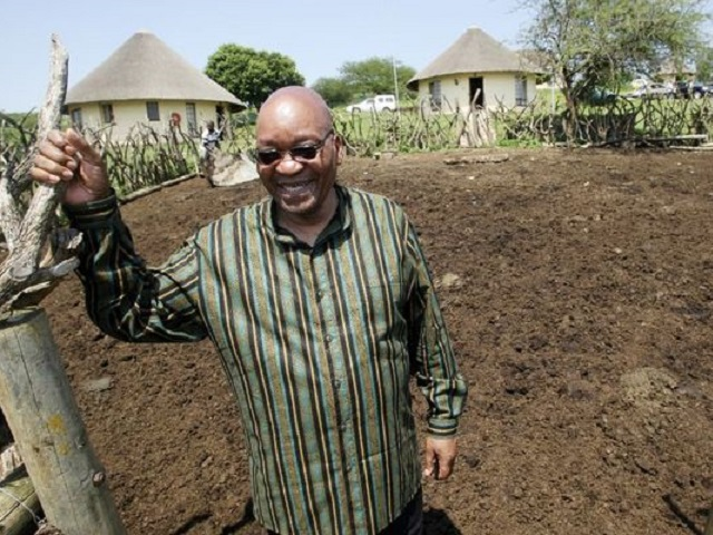 Jacob+Zuma+at+Nkandla