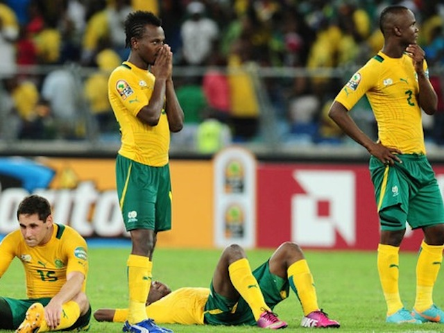 Football - 2013 Africa Cup of Nations Finals - Quarterfinals - South Africa v Mali - Moses Mabhida Stadium - Durban