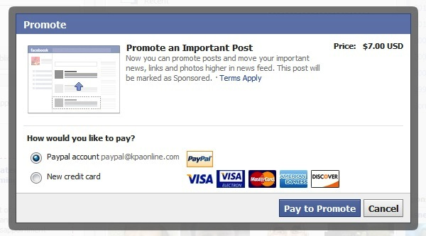 Facebook-Pay-to-Promote