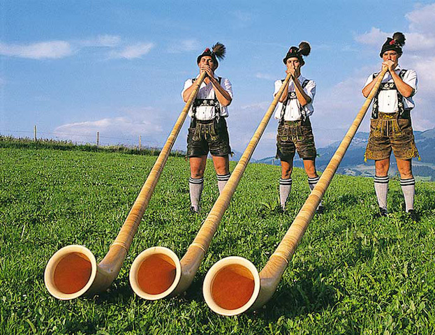 switzerland alphorn