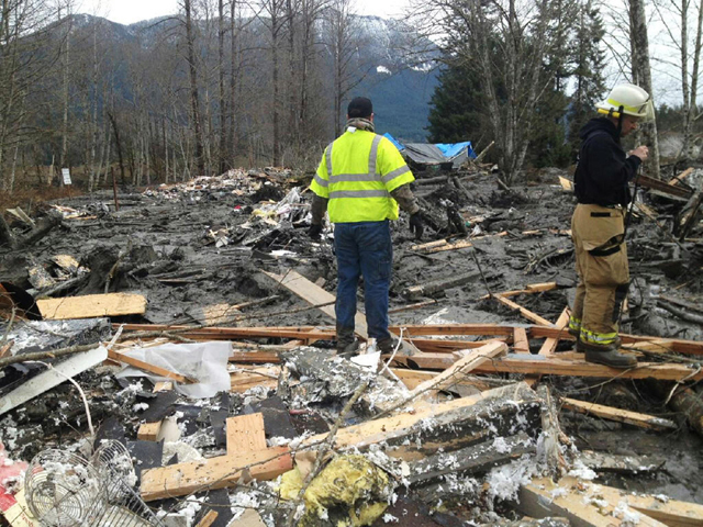 Eighteen Still Missing In Washington State Mudslide