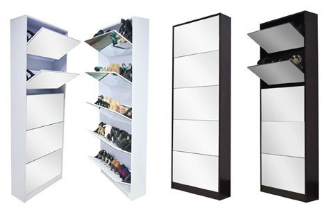 We Bring You Your Very Own Elegant Mirror/Shoe Cabinet That Actually ADDS  To The Overall Decor Appeal Of Your Room By Way Of Its Sheer Sophistication  And ... Part 19