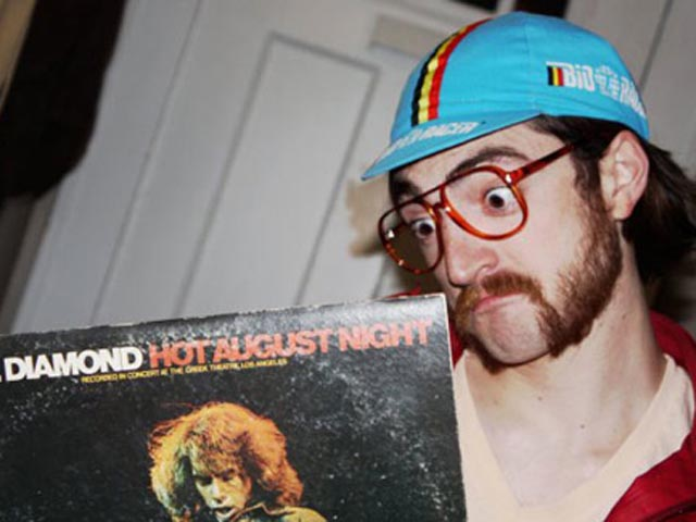 record hipster