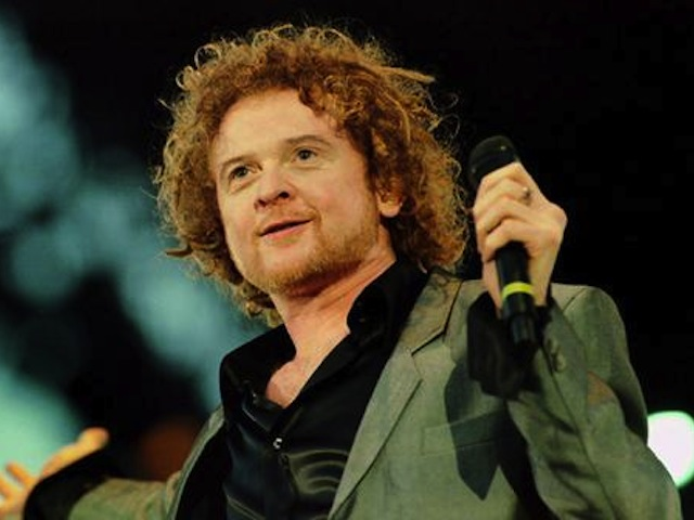 Breaking up .. Mick Hucknell's band Simply Red will soon be no more.