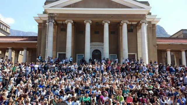 UCT Students Are Rallying For That Cecil John Rhodes