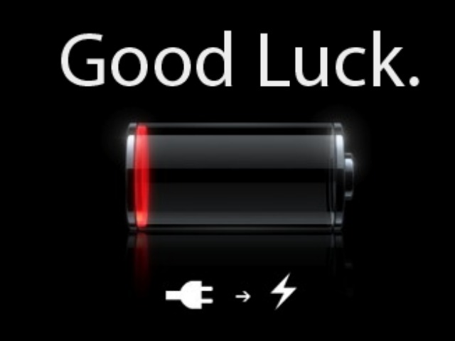 low-battery-good-luck