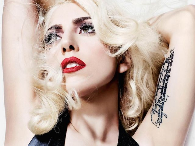 Lady Gaga Wallpaper @ go4celebrity.com