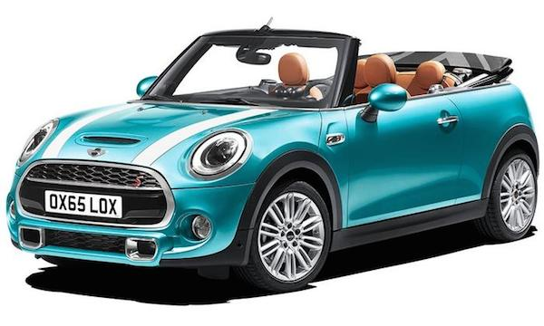 The Soft Top Version Of Three Door Hatchback Has A Slicker Roof Which New Sliding Function And Can Be Opened Via Full Electric Operation In 18