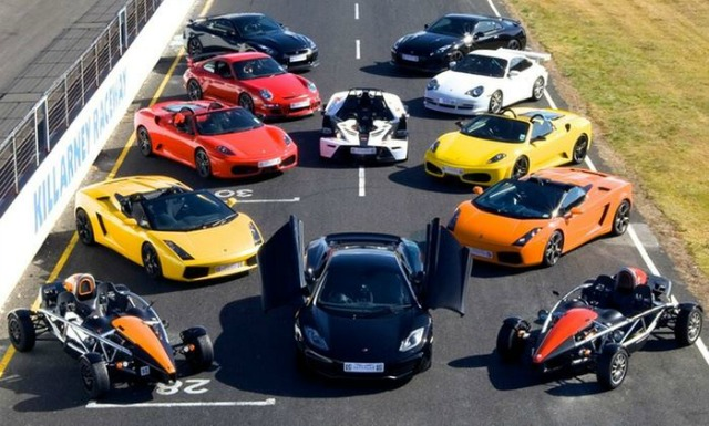 No Ways Just To Race A Supercar Around Killarney Racetrack