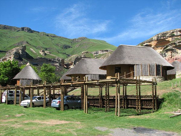 Glen Reenen Rest Camp Golden Gate Highlands SANParks