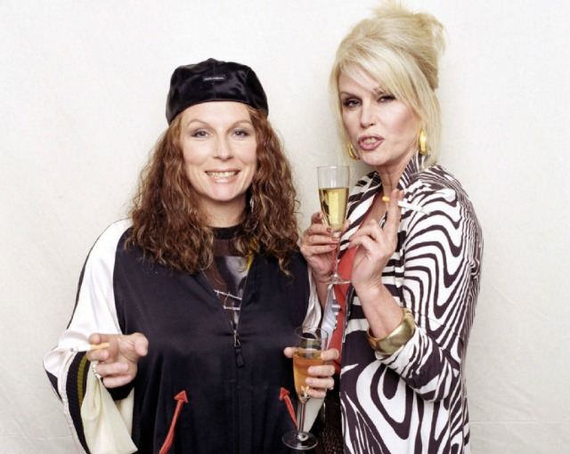 """SALESOUT NARCH EUO 3TP Actresses Jennifer Saunders (L) and Joanna Lumley, stars of the hit British comedy """"Absolutely Fabulous"""" are shown in this publicity photo released to Reuters August 29, 2011. The show is returning to television with three new specials celebrating the show's 20th anniversary, the BBC said on Monday. REUTERS/BBC/Handout (UNITED STATES - Tags: ENTERTAINMENT) NO SALES. NO ARCHIVES. FOR EDITORIAL USE ONLY. NOT FOR SALE FOR MARKETING OR ADVERTISING CAMPAIGNS. THIS IMAGE HAS BEEN SUPPLIED BY A THIRD PARTY. IT IS DISTRIBUTED, EXACTLY AS RECEIVED BY REUTERS, AS A SERVICE TO CLIENTS"""