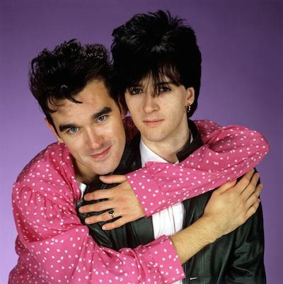 Morrissey And Johnny Marr of The Smiths, Morrissey And Johnny Marr (Photo by Brian Rasic/Getty Images)