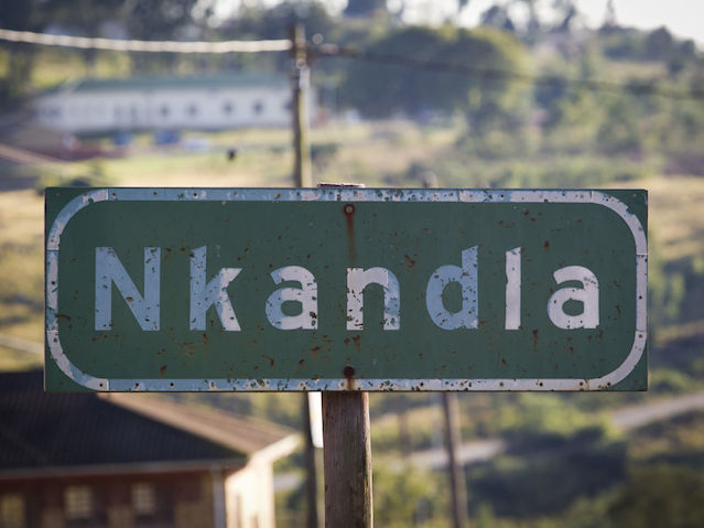 A general view of Nkandla, 11 May, 2011. © Rogan Ward 2011ard 2011