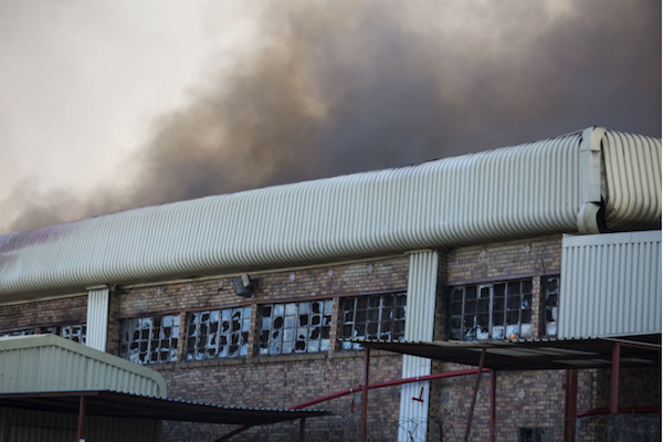 You Heard About That Massive Building On Fire In Jozi, Right