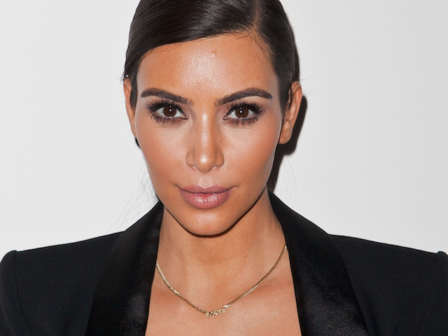LOS ANGELES, CA - APRIL 08:  Kim Kardashian attends as Nicole Richie, Rivka Sophia Rossi, Hayden Slater and friends host Marianne Williamson, Independent Candidate for Congress, CA 33 event at Kayne Griffin Corcoran Gallery on April 8, 2014 in Los Angeles, California.  (Photo by Tibrina Hobson/Getty Images)