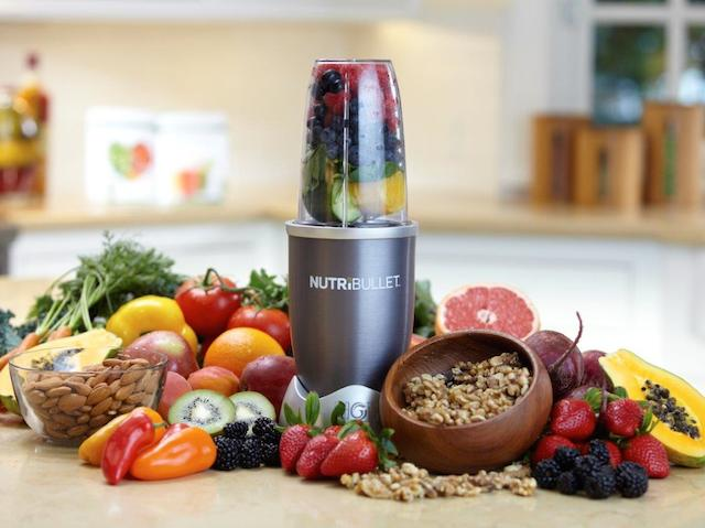 NutriBullet with fruit & veg