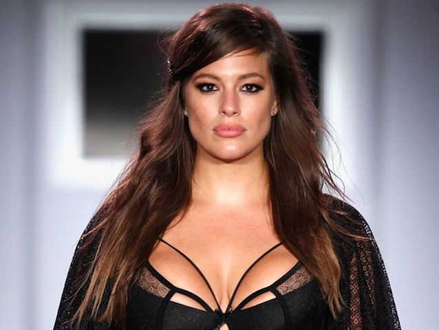 Ashley-Graham-walks-the-runway-as-Addition-Elle-presents-FallHoliday-2015-RTW-and-Ashley-Graham-Lingerie-Collection