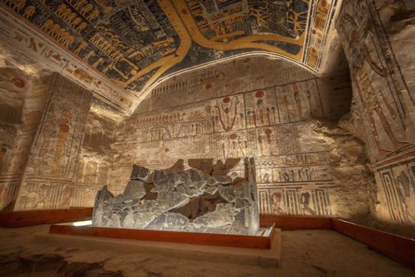 The tomb of Ramesses VI