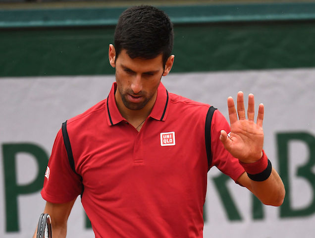 Djokovic Almost Disqualified From French Open For Throwing Racquet At Linesman Video 2oceansvibe News South African And International News