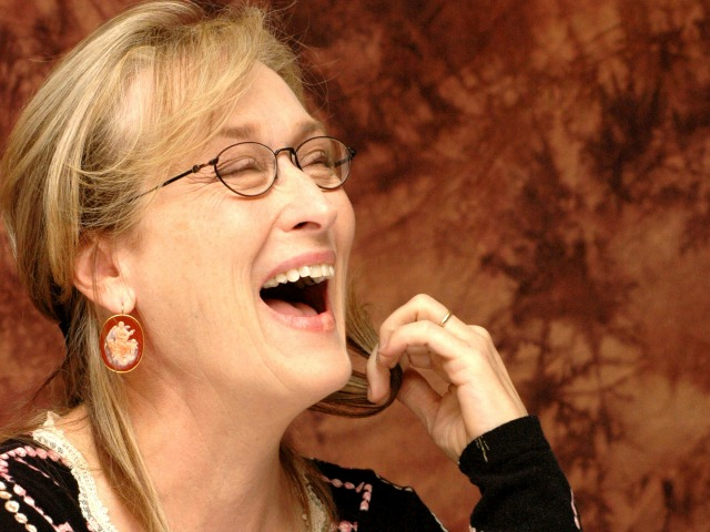 "Meryl Streep at the Hollywood Foreign Press Association press conference for the movie ""Prime"" held in New York City, New York on October 1, 2005.  Photo by: Yoram Kahana_Shooting Star.  NO TABLOID PUBLICATIONS.  NO USA SALES UNTIL January 2, 2006."