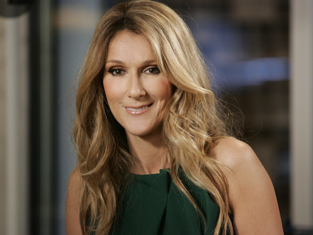 KATIE - 4/25/13 - Celine Dion invited Katie Couric into her recording studio for an exclusive conversation about her family, her husband's cancer diagnosis, and her brand new music, airing on KATIE, distributed by Disney-ABC Domestic Television. (Photo by Ronda Churchill/Disney-ABC via Getty Images) 