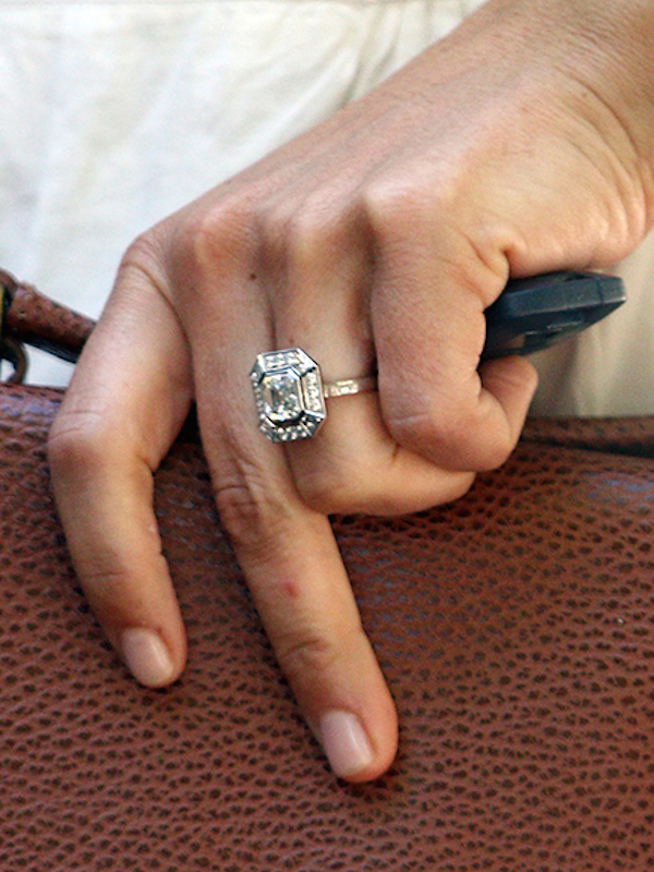 Here S A Close Up Of Pippa Middleton S Engagement Ring And How Much