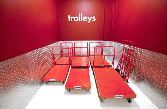Feature use our trolleys