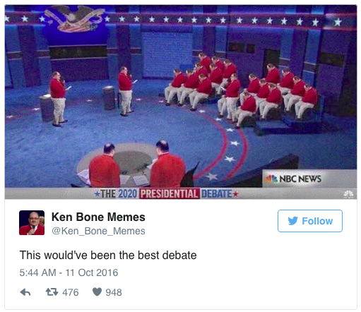 Undecided Voter Ken Bone Supports Gay Marriage