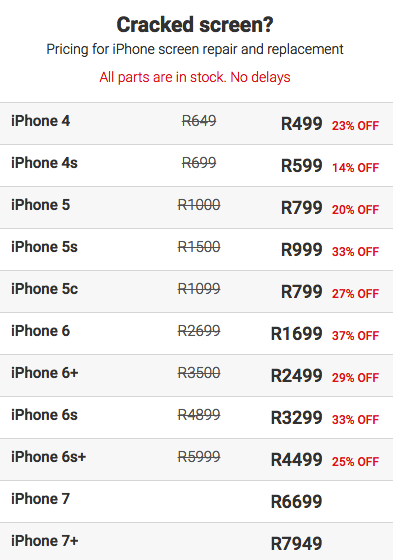 We Found Out The Price Of Replacing An Iphone 7 And 7 Plus Screen So You Don T Have To 2oceansvibe News South African And International News