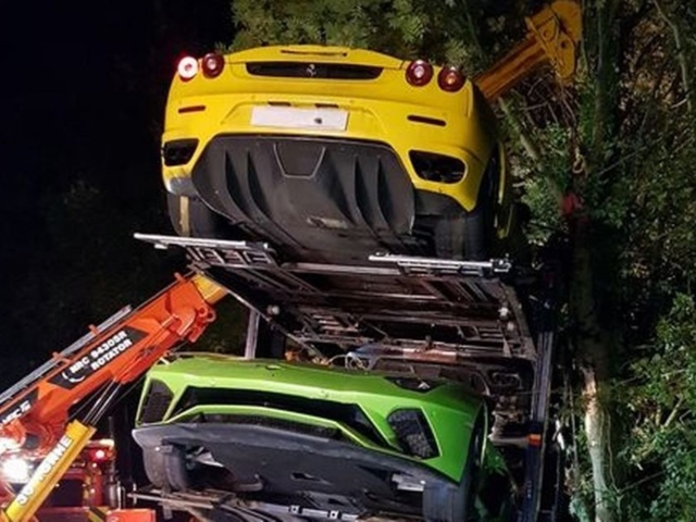 Supercar Heartbreak As Ferraris Lamborghinis And Aston Martins Damaged In Crash 2oceansvibe News South African And International News