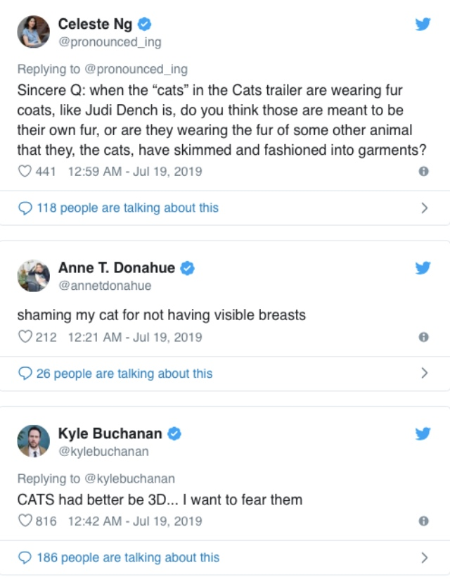 You Can T Unsee The Trailer For The Movie Version Of Cats Video 2oceansvibe News South African And International News
