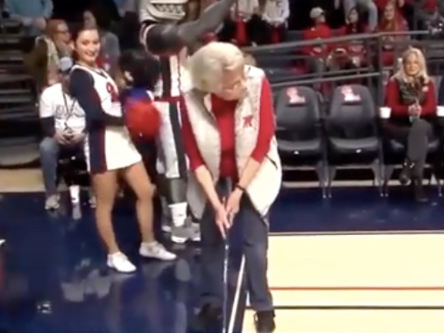 84-year-old-woman-putt-Basketball-Court